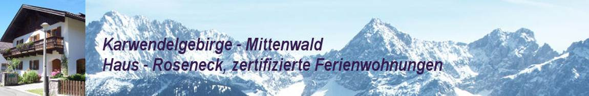 Ferienwohnungen in Mittenwald