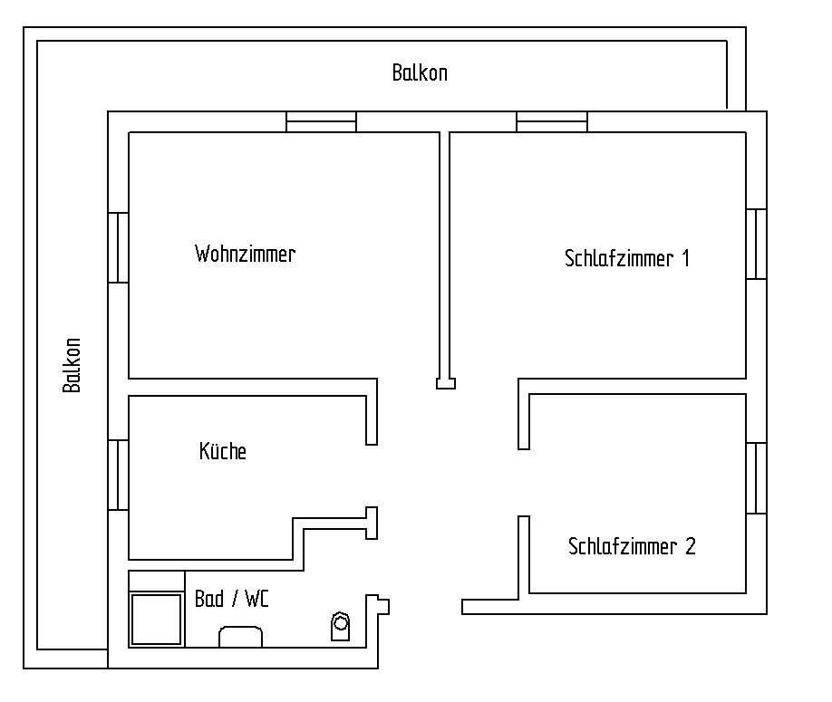 Ferienwohnung 1 Grundriss Haus Roseneeck Mittenwald